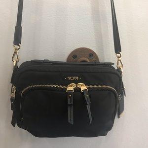 Tumi Voyageur Crossbody Luanda Flight Bag Black